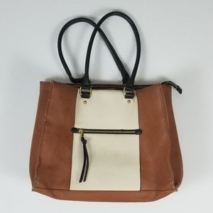 Foux Leather Laptop Bag